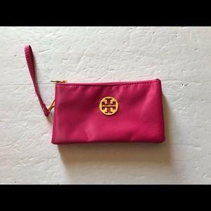 Tory Burch Pink Wristlet Wallet